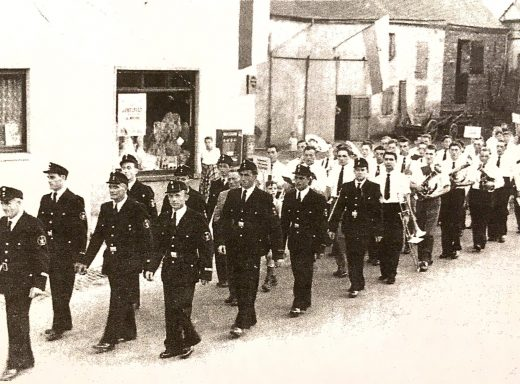 feuerwehrkapelle salmrohr 1958
